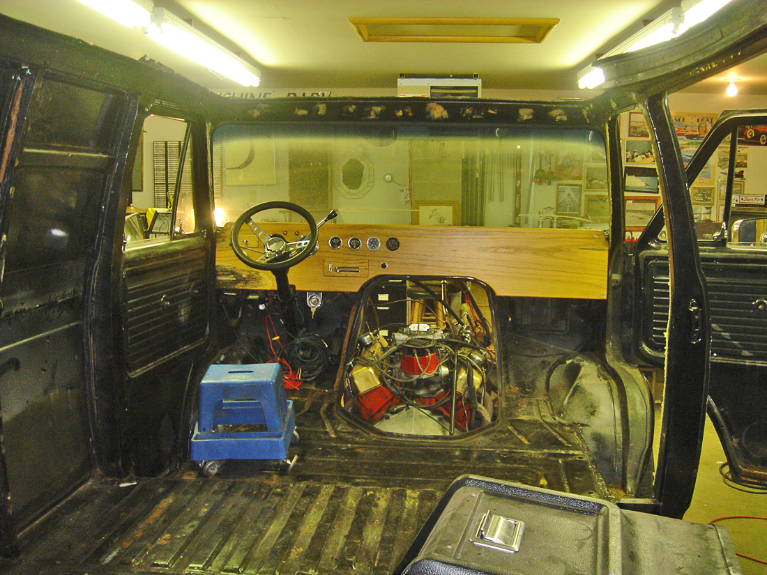 Phil Spruit 1975 Chevy Van Restoration