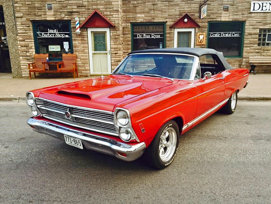 But it wasn't until 1966 that the color went mainstream when Ford began  offering candy-apple red as a paint option on Fairlane, Falcon, Galaxie, ...